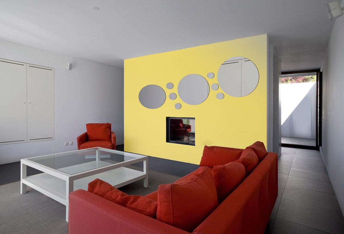 Miroir Design Rond 3 mm