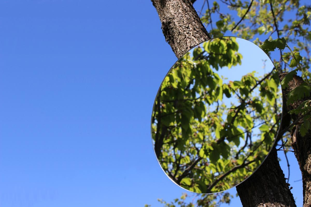 Miroir de jardin Rond 3 mm