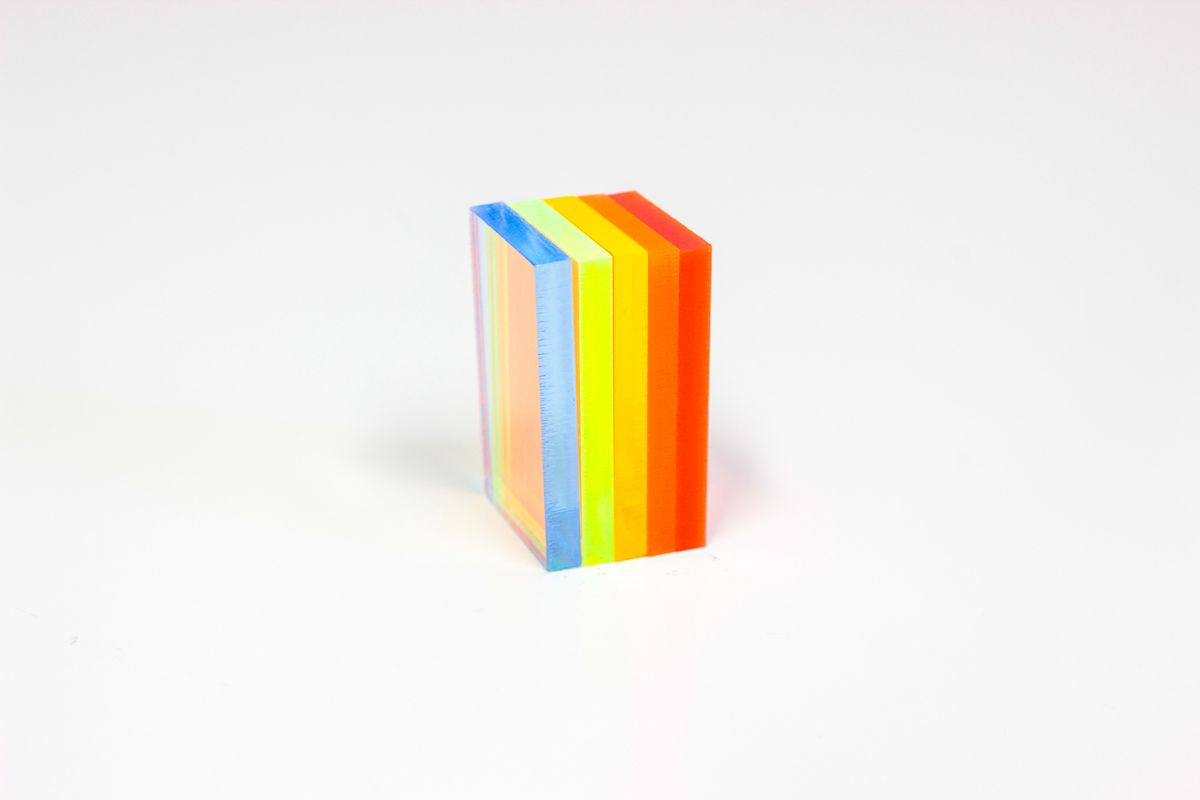 PMMA Fluo Orange 3 mm