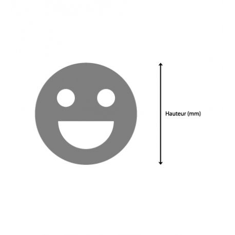 Customized Happy Smiley