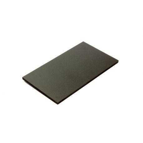Poly thyl ne noir 3 mm for Polir aluminium miroir