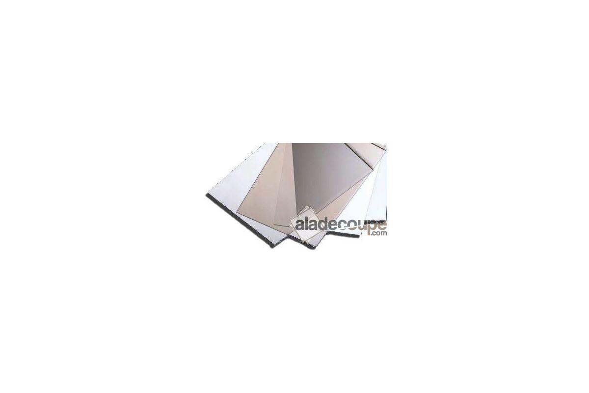 Polycarbonate incolore 3 mm for Polir aluminium miroir