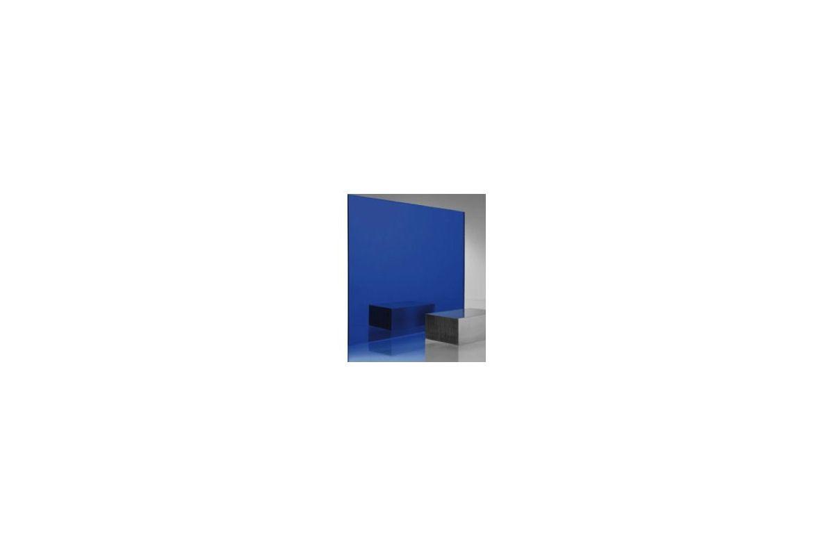 Miroir acrylique carr rectangle bleu 3 mm www for Miroir acrylique