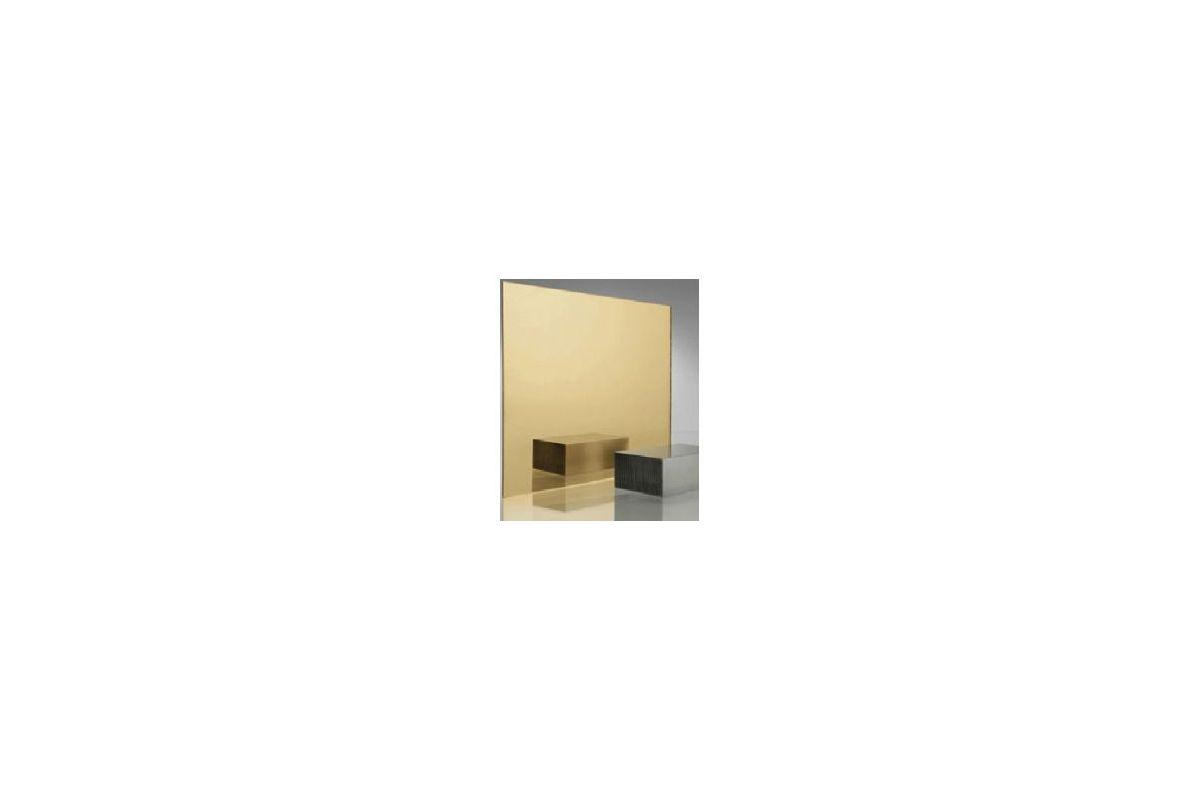 Miroir acrylique carr rectangle or 3 mm www for Miroir acrylique