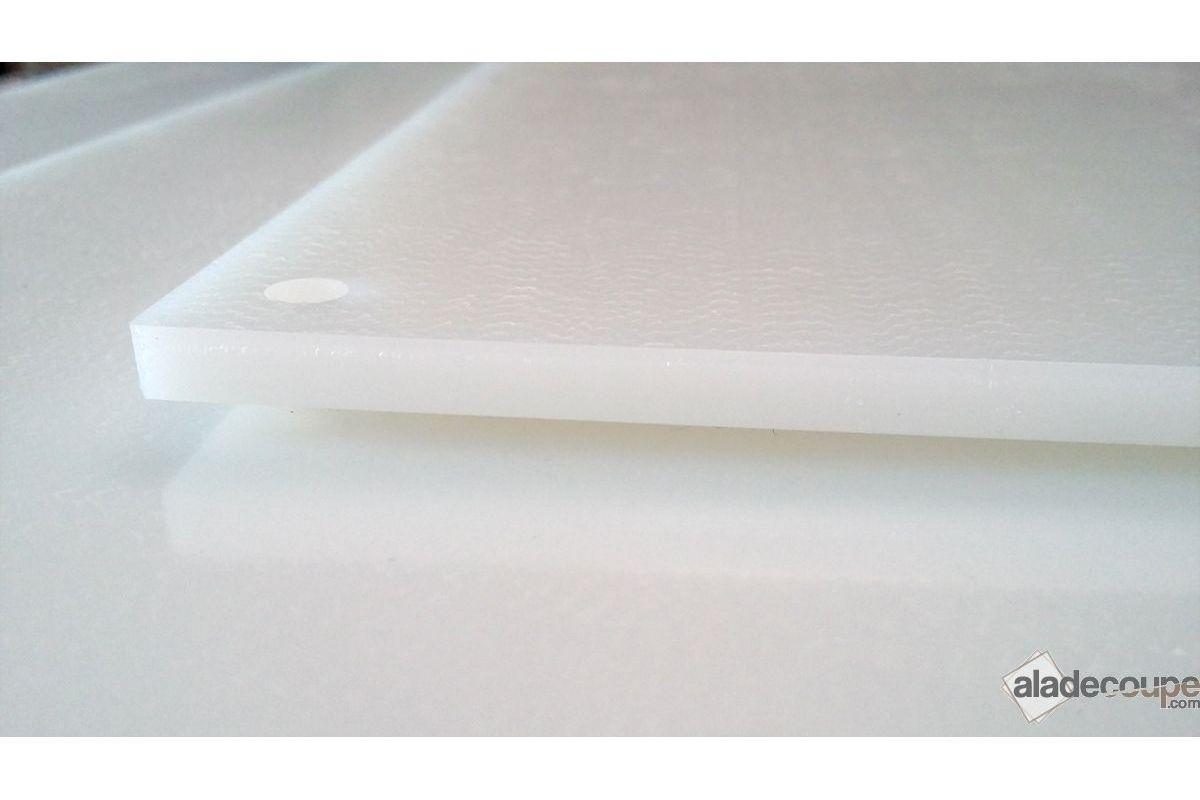 Poly thyl ne naturel 8 mm for Polir aluminium miroir