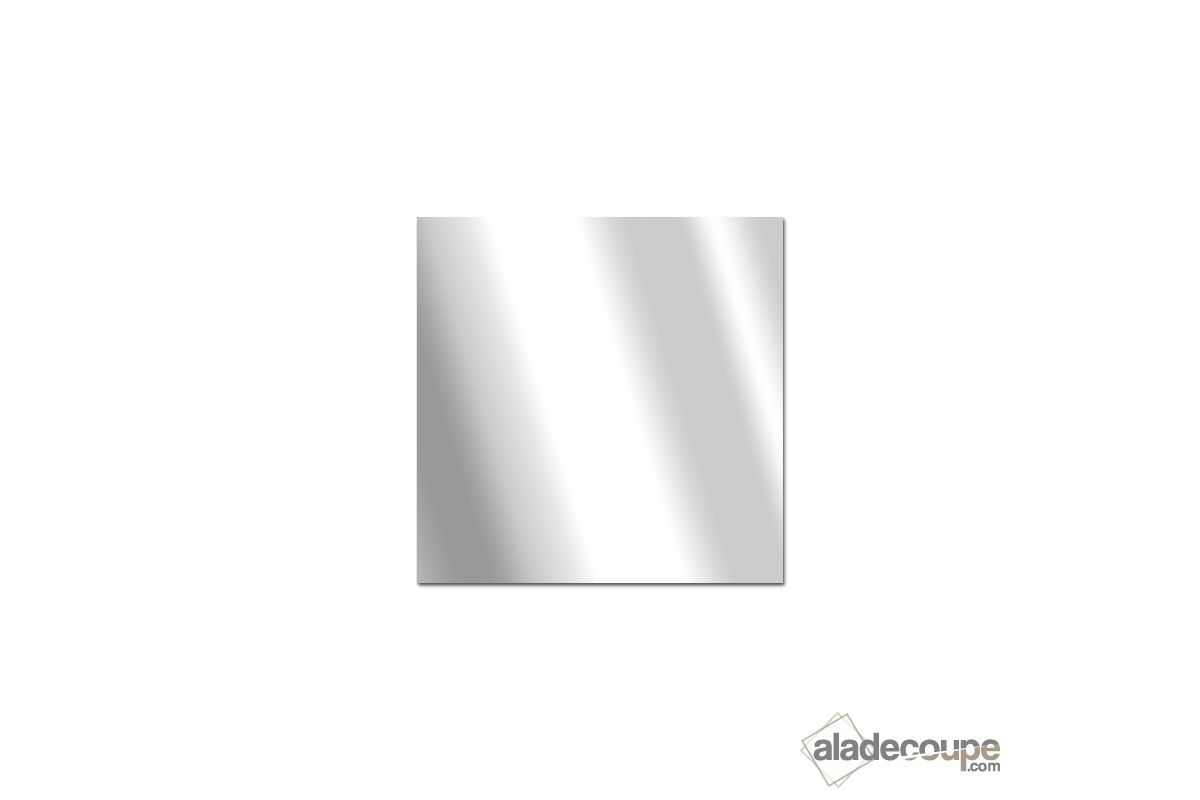 Miroir acrylique carr rectangle 3 mm for Coupe de miroir sur mesure
