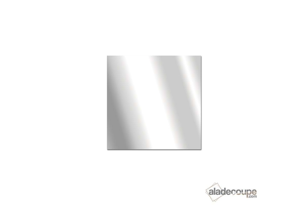 Miroir acrylique carr rectangle 5 mm for Coupe miroir sur mesure