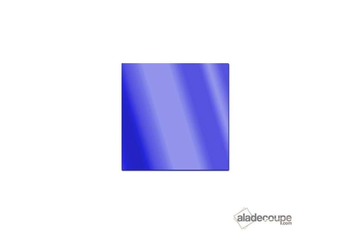 Miroir acrylique carr rectangle bleu 3 mm www for Polir aluminium miroir
