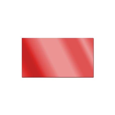 Miroir acrylique rouge 3mm
