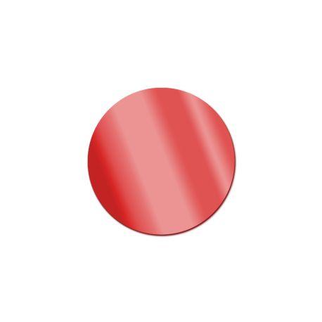 Miroir acrylique Rond Rouge 3 mm