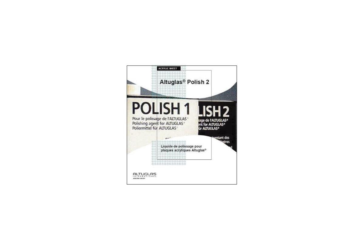 Altuglas polish n 2 for Polir aluminium miroir