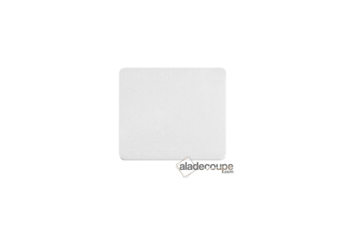 Pmma coul ovale blanc 3 mm for Polir aluminium miroir