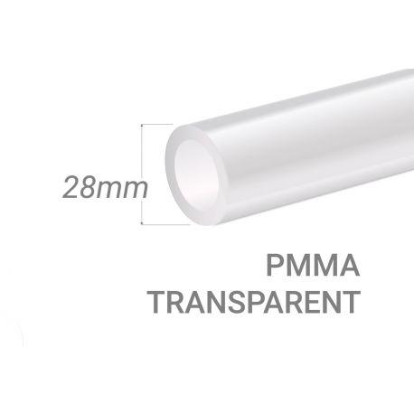 Tube PMMA Incolore 15x3mm