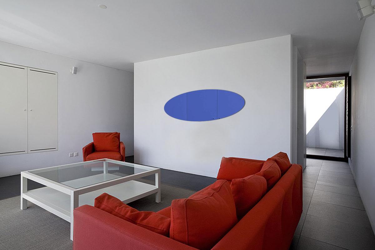 Miroir acrylique Bleu