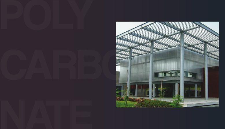 Polycarbonate compact et polycarbonate alvéolaire, le tout : Anti-UV pour une résistance longue en extérieur